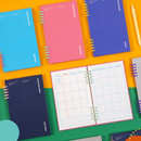 Ardium Color pop 10 rings dateless monthly diary planner