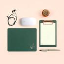 Deep Green - Bookfriends Korean literature reversible mouse pad