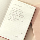 Daily dairy - PAPERIAN Dear my mind dateless daily diary planner