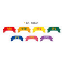 02 Ribbon - Wanna This Korean day of the week paper masking tape