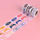 Wanna This Korean day of the week paper masking tape