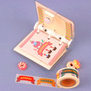 Usage example - Wanna This Alphabet day of the week paper masking tape
