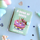 Cake - Second Mansion Juicy bear 3 ring grid notebook
