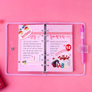 Usage example - Wanna This Color blank paper A6 size 6 holes refills set