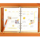 Monthly plan - Wanna This Picnic check A5 6-ring dateless monthly planner