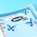 Usage example - Wanna This Color blank paper A5 size 6 holes refills set