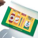 PP cover - Design Comma-B 2021 Retro handy dated monthly desk scheduler