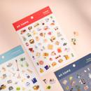 Byfulldesign At home useful deco sticker sheet set