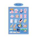 Picnic - DESIGN GOMGOM Reeli removable deco sticker ver2