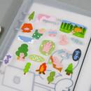 Usage example - DESIGN GOMGOM Reeli removable deco sticker ver2