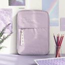 Lavender - ICONIC Cottony iPad tablet PC 11 inches zipper sleeve case