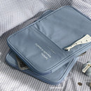 Cotton Blue - ICONIC Cottony iPad tablet PC 11 inches zipper sleeve case