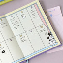 Yearly plan - ICONIC 2021 Doremi dated weekly diary planner