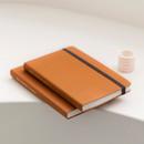 Pumpkin Orange - Byfulldesign Making memory medium blank notebook ver2