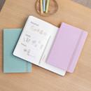 Byfulldesign Making memory medium blank notebook ver2