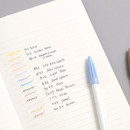 Usage example - Byfulldesign Making memory medium lined notebook ver2