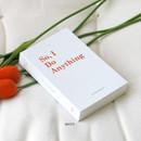 White - Indigo Success 365 dateless daily journal