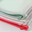 Zipper closure - 2NUL Cherry pick wide A6 6-ring PVC zipper binder