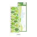 Summer - Wanna This Forest's tree paper sticker