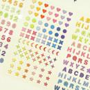 Indigo Gold line PVC removable sticker