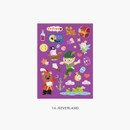 14 Neverland - Project fairy tale my juicy bear removable sticker 9-16