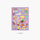 11 Prince - Project fairy tale my juicy bear removable sticker 9-16