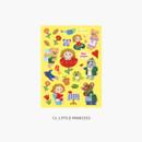 12 Little princess - Project fairy tale my juicy bear removable sticker 9-16