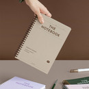 ICONIC Compact wire bound A5 hardcover lined notebook