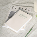 Beige - ICONIC Heyday 6 months hardcover dateless study planner