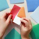Indigo Colorful decorative paper sticker pack 50 sheets