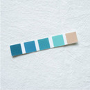 No cut - Meri Film Ocean color chips translucent sticker set