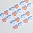 Meri Film Sky and Cloud heart paper sticker set