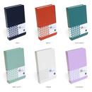 Color - Indigo Prism 108 pockets hardcover name card album