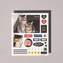 Cat - Ardium Mood decorative paper sticker