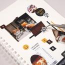 Usage example - Ardium Mood decorative paper sticker