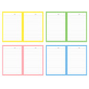 Lined paper - Ardium Color point lined notebook ver2 with PVC cover