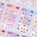 BT21 Dream baby pastel clear sticker