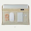 "13 inches - Bichon Frise boucle iPad 13"" laptop zipper sleeve case pouch"