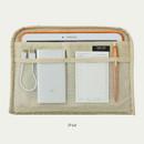 "iPad - Llama boucle iPad 13"" laptop zipper sleeve case pouch"