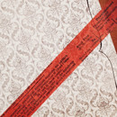 Usage example - Universal Condition Coral vintage lettering masking tape