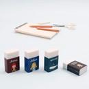 Bookfriends World literature white pencil eraser