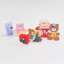Usage example - Wanna This Today Monggeul bear removable sticker seal