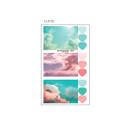 Cloud - ICIEL Daily photo heart paper sticker