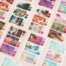 ICIEL Daily photo heart paper sticker