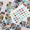 ICIEL Today mood photo heart paper sticker