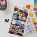 ICIEL Today mICIEL Today mood photo heart paper stickerood photo heart paper sticker