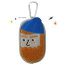 Best Friends  - Antenna Shop Boucle AirPods zipper case bag with key clip