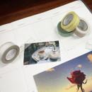 Usage example - O-CHECK Pattern 15mm X 10m paper masking tape