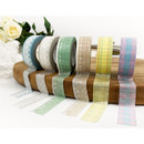 O-CHECK Pattern 15mm X 10m paper masking tape