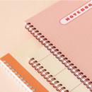 Wire binding - Indigo Basic B5 sprial binding lined notebook
